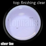SILVER LINE - top FINISHING clear 15g
