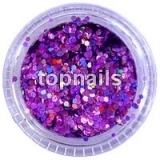 MINIHOLOGRAMY  PURPLE opalescent