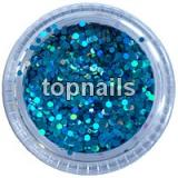 MINIHOLOGRAMY  TURQUOISE opalescent