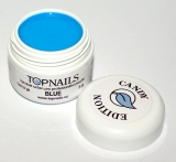 topnails - barevný UV gel CANDY BLUE 5g