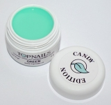 topnails - barevný UV gel CANDY GREEN 5g