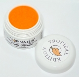 topnails - barevný UV gel TROPICAL pearl ORANGE 5g