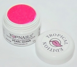 topnails - barevný UV gel TROPICAL pearl GUAVA 5g