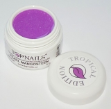 topnails - barevný UV gel TROPICAL pearl MANGOSTEEN 5g