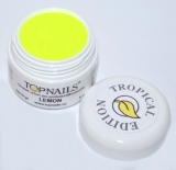 topnails - barevný UV gel TROPICAL LEMON 5g