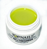 topnails - barevný UV gel SPRING : yellowgreen 5g