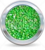 hologramy 1mm  NEON green