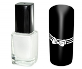 lak na stamping 12ml - WHITE