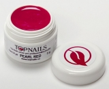 topnails - barevný UV gel PEARL RED 5g