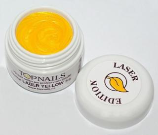 topnails - barevný UV gel LASER YELLOW 5g