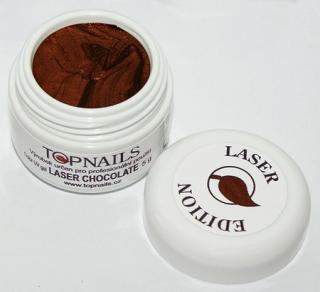 topnails - barevný UV gel LASER CHOCOLATE 5g