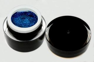 topnails - BLACK LINE - UV gel GLITTER BLUE 5g