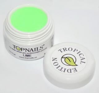 topnails - barevný UV gel TROPICAL LIME 5g