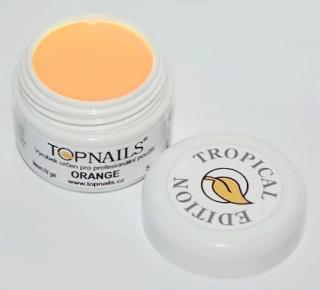 topnails - barevný UV gel TROPICAL ORANGE 5g