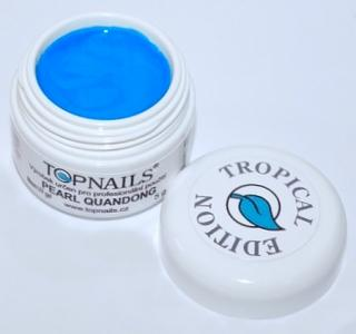 topnails - barevný UV gel TROPICAL pearl QUANDONG 5g