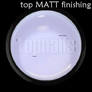 top UV gel MATT finishing 5g
