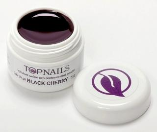 topnails - barevný UV gel BLACK CHERRY 5g