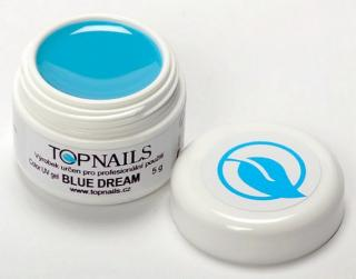 topnails - barevný UV gel BLUE DREAM 5g