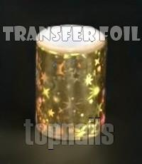 Transfer nail art holo FOLIE 44