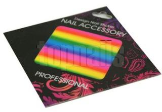 Transfer nail art holo FOLIE 87 NEON