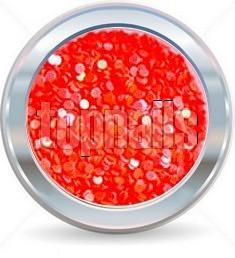 hologramy 1mm  NEON redorange