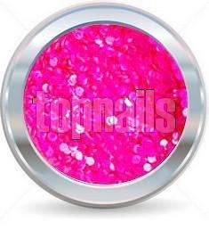 hologramy 1mm  NEON pink