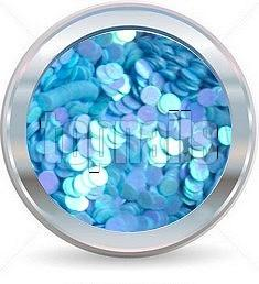 hologramy 2mm  NEON blue