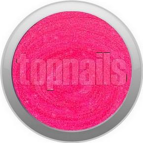 topnails - barevný UV gel GLITTER ultra neon ROSE  527 - 5g