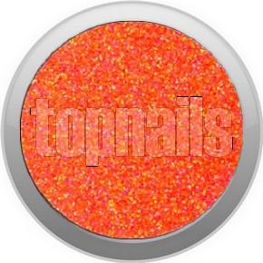 topnails - barevný UV gel NEON GLITTER ORANGE 529 - 5g