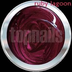 topnails - barevný UV gel RUBY LAGOON no.450 -  5g