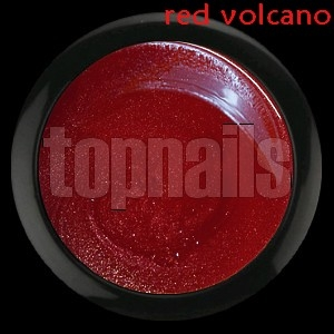 topnails - barevný UV gel RED VOLCANO no.451 - 5g
