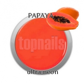 topnails - barevný UV gel ULTRA neon PAPAYA 533 - 5g