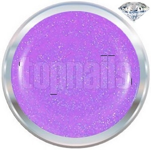 topnails - barevný UV gel DIAMOND PURPLE 5g