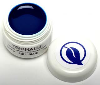 topnails - barevný UV gel FULL BLUE 5g