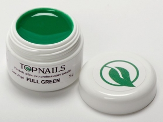 topnails - barevný UV gel FULL GREEN 5g