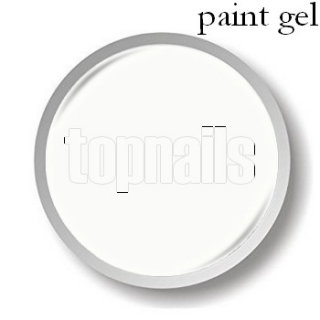 topnails -  UV gel PAINT WHITE 5g