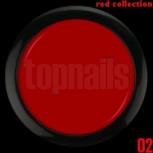topnails - barevný UV gel RED collection 02