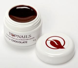 topnails - barevný UV gel CHOCOLATE 5g