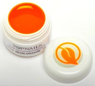 topnails - barevný UV gel NEON ORANGE 520 - 5g