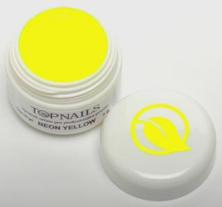 topnails - barevný UV gel NEON YELLOW 519 -5g