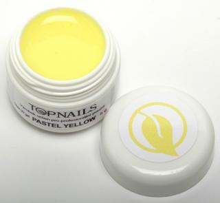 topnails - barevný UV gel PASTEL YELLOW 5g